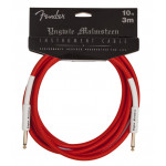 Fender YMG 10ft Instrument Cable Red