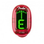 Fender FT-1620 Color Clip On Tuner RD