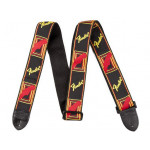 Fender Mono Strap BLK/YELLOW/RED