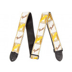 Fender Mono Strap WHITE/BROWN/YELLOW