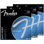 Fender 150R Pure Nickel Wound, Ball End 10/46 - 3 Pack