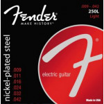 Fender 250L Nickel Plated Steel, Ball End 09/42