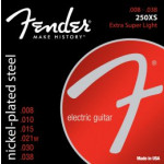 Fender 250XS Nickel Plated Steel, Ball End 08/38