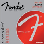 Fender 3250LR Nickel Plated Steel, Bullet End 09-46