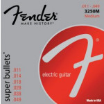 Fender 3250M Nickel Plated Steel, Bullet End 11-49
