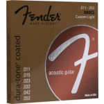 Fender 880CL Dura-Tone® Coated, 80/20, Ball End 11/52