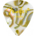 Trsátka set Fender 351 Shape Premium Picks 12 Pack Abalone Thin