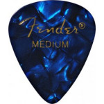 Trsátka set Fender 351 Shape Premium Picks 12 Pack Blue Moto Medium
