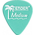 Trsátka set Fender Calclear Picks,12 Pack, Surf Grn Medium