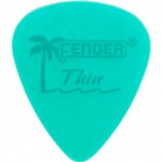 Trsátka set Fender Calclear Picks,12 Pack, Surf GRN Thin